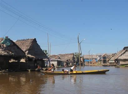 Barques - lagune