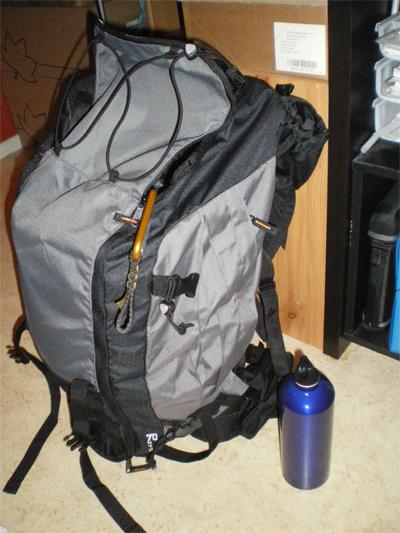 Préparation du sac