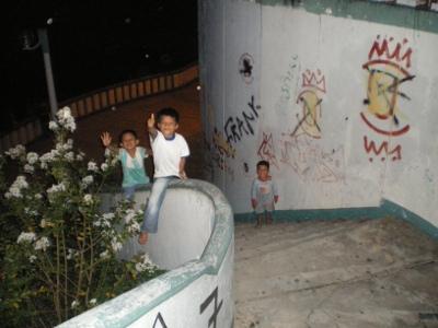 Des enfants d'Iquitos
