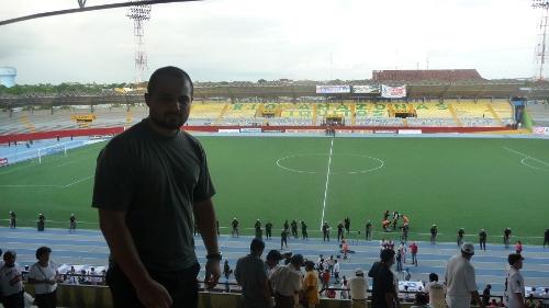 Stade de foot du CNI Iquitos (match terminé)