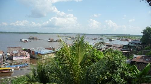 Vue sur le Rio Itaya