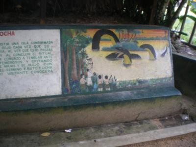 Les légendes peintent de Quistococha