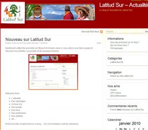 Le blog Latitud Sur